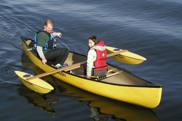 Easy Riders Canoe Outriggers