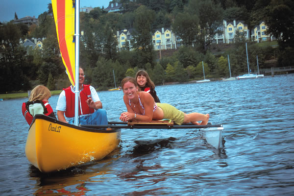 C Lion Outrigger Canoe Easy Riders Can...