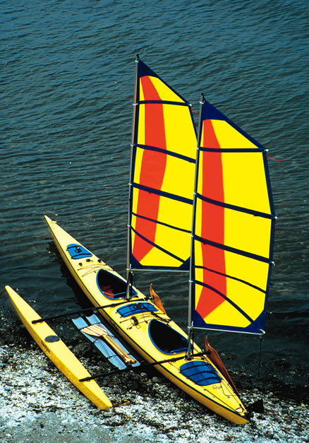 Best Kayak Stabilizers : Easy riders outriggers for kayaks